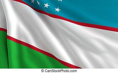 Flag of Uzbekistan,