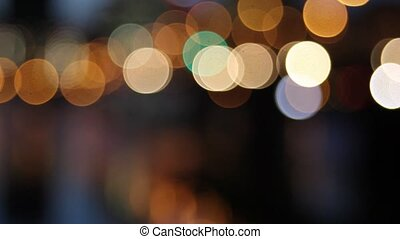 Portland Oregon City with Bokeh - Portland Oregon City...