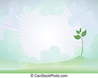 spring sprout shoot pattern - vector spring sprout shoot...