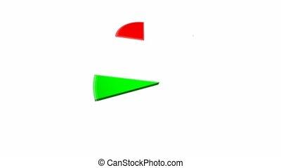 Round diagrame - Animated round diagrame
