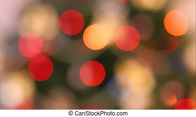 defocused lights background