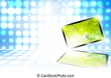 Abstract tablet PC