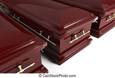 3d coffin - fine image of classic 3d coffin