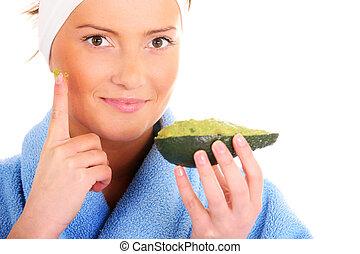 Avocado treatment