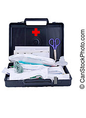 First aid kit - still life - Car kit for first aid at...