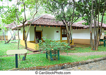 The villa at luxury hotel, Bentota, Sri Lanka