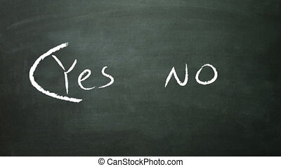 yes no selection - the graphical of true and false decision...