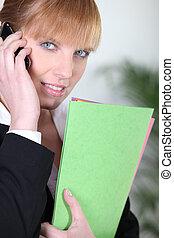 Woman job applicant