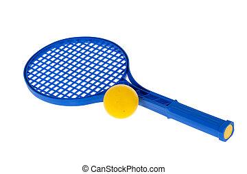 Pelota, raqueta