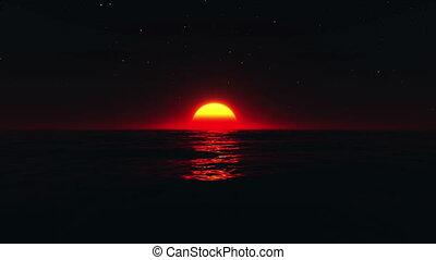 horizon - image of sunrise from horizon