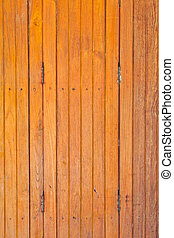 The light brown wooden partition - The background image of...