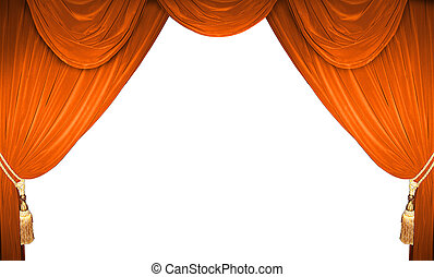 theater curtains - curtain of a classical theater