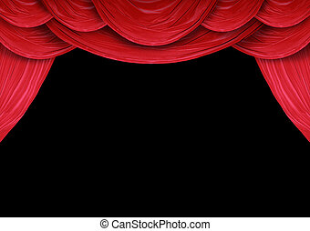 stage of a theater