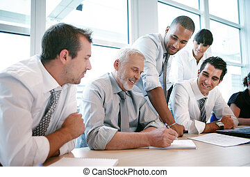 equipe, reunião