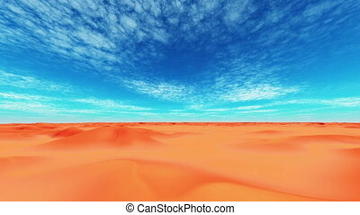 desert and horizon