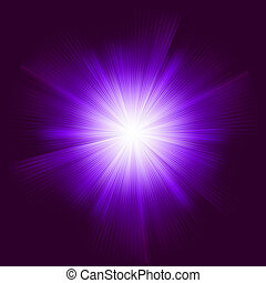 Lens flare vector background. EPS 8 vector file included