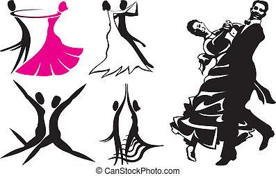 dancing silhouettes, latino dance, standard dance copetitive...