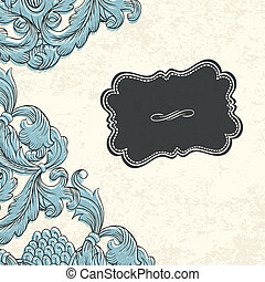 Vintage background with space for text. Vector, EPS10.