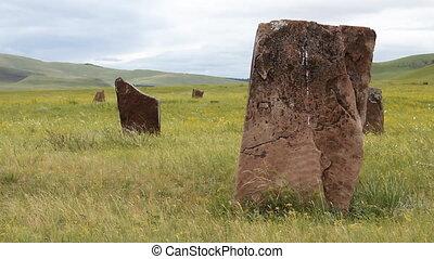 Stones 38 - Standing stones.
