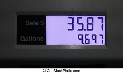 Gas price changing fast - Gas counter running fast (2X real...