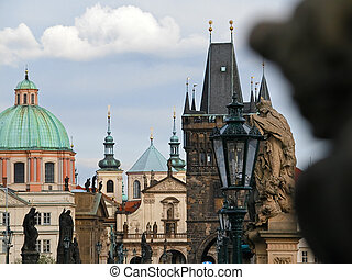 Praga - Details of Praga buildings and arts