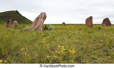 Stones 36 - Standing stones