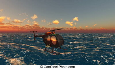 helicopter  - image of helicopter