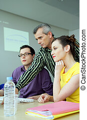 educational training for young businessmen