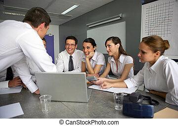 ventas, reunión