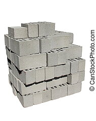 Building concrete blocks - Building blocks concrete masonry...