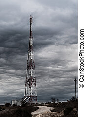 This is photograph of antenna