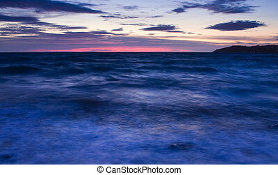 This is a photograph of a sunrise