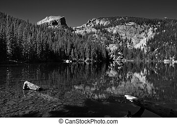 Bear Lake  - Bear lake, in Rocky Mountain National Park