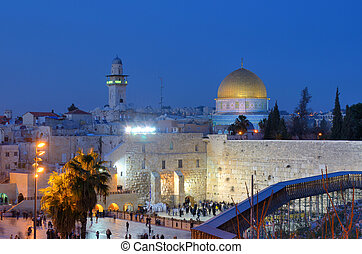 Western Wall and Dome of the Rock - The Western Wall, also...
