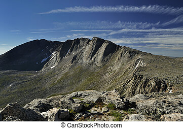 Mount Evans, a fourteener in Colorado