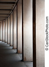 Modern columns