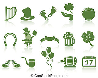 st patrick's day icon
