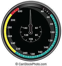 Digital display - The circular digital display for...