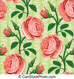 seamless rose pink background - seamless romantic rose pink...