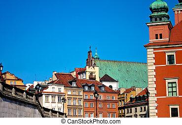 Warsaw, Poland. UNESCO - view of Warsaw, the capital city of...