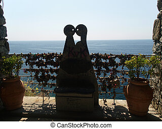 """Via dell amor"" of Cinque Terre - Liguria Italy.Oone from..."
