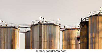 Industrial, tanques