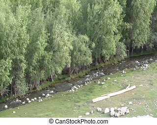Tributary along Ishkashim village - Tributary to the Oxus...