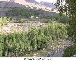 Tributary in Ishkashim - Tributary to the Oxus River...