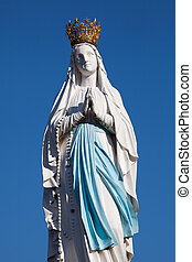 Virgin of Lourdes, High Pyrenees, France