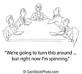 Boss spinning