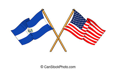 America and El Salvador alliance and friendship -...