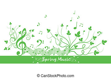 Spring Floral and Music