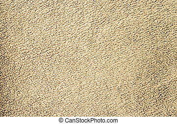 Beige fleece texture