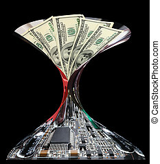 Dollar money and electronics - Dollar money and electronics...